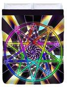 Sense Creation Five Duvet Cover by Derek Gedney
