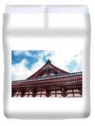 Sensoji Temple Duvet Cover