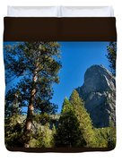 Sentinel Dome, Yosemite Np Duvet Cover
