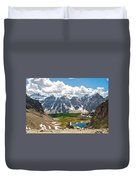 Sentinel Pass And Larch Valley Duvet Cover
