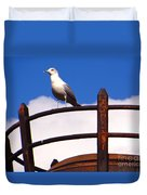 Sentinel Sea Gull Duvet Cover