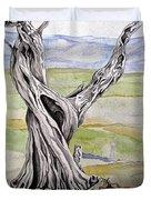 Sentinel Tree Duvet Cover