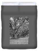 Sentinels Monochrome Duvet Cover