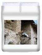 Sentry Cat Duvet Cover