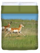 Separate Ways Duvet Cover