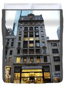 Sephora House - 5th Ave Nyc Duvet Cover