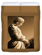 Sepia Angel Dream Duvet Cover
