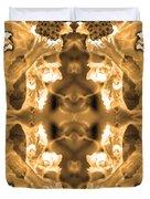 Sepia Bag Fairies 2 Duvet Cover
