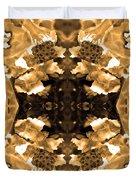 Sepia Bag Fairies 3 Duvet Cover