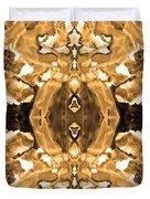 Sepia Bag Fairies 4 Duvet Cover