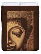 Sepia Chalk 1 Duvet Cover