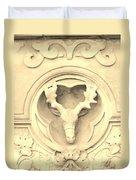 Sepia Reindeer Duvet Cover