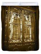 Sepia Spanish Door Duvet Cover