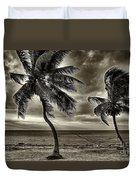Sepia Sunset Duvet Cover