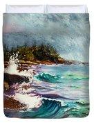September Storm Lake Superior Duvet Cover