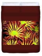 September's Radiance In A Flower Duvet Cover