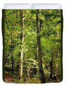 September's Woodlands Duvet Cover