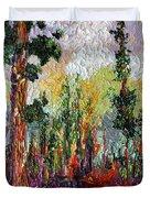 Sequoia Path National Parks  Duvet Cover