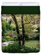 Serene Garden Retreat Duvet Cover