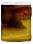 Serene New England Cabin In Autumn 5 Duvet Cover