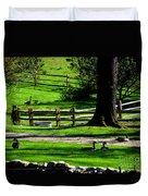 Serenity At Tashmoo Farm Duvet Cover