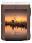 Serenity Harbor 4 Duvet Cover