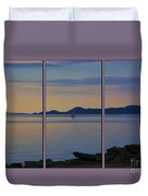 Serenity Tryptych Duvet Cover