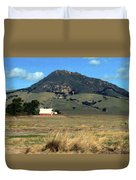 Serenity Under Bishops Peak Duvet Cover