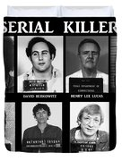 Serial Killers - Public Enemies Duvet Cover