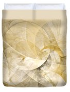Series Abstract Art In Earth Tones 1 Duvet Cover