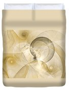 Series Abstract Art In Earth Tones 3 Duvet Cover