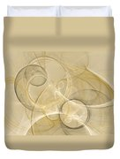 Series Abstract Art In Earth Tones 4 Duvet Cover