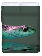 Serpent Profile 2 Duvet Cover