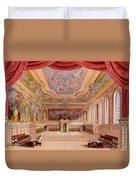 Set Design For The Merchant Of Venice Duvet Cover