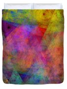 Set Sails On The Open Sea Abstract Duvet Cover