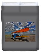 Set To Fly Duvet Cover