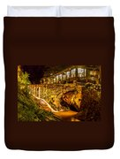 Seven Falls Visitors Center Duvet Cover