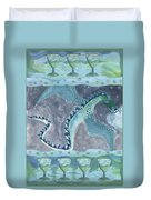 Seven Of Cups Duvet Cover