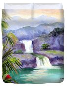 Seven Sacred Pools Duvet Cover
