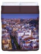 Seville Cityscape Duvet Cover