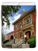 Sewickley Municipal Hall Duvet Cover