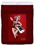 Sexy Guitar Duvet Cover