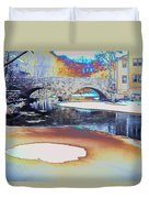 Sgt Peppers Lonely Hearts Club Bridge Duvet Cover