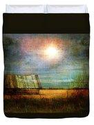 Shack On The Prairie Corner  Duvet Cover