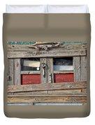 Shack Window Duvet Cover