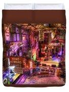 Shackup Inn Stage Duvet Cover