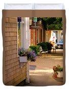 Shaded Walkway Duvet Cover