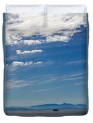 Blue Skies And Bluer Seas Duvet Cover