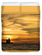 Shades Of Dawn Duvet Cover