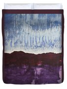 Shades Of New Mexico Original Painting Duvet Cover